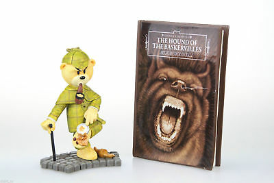 Sherlock Holmes Bad Taste Bears Collectible BTB Bear Hand Painted Figurine NEW