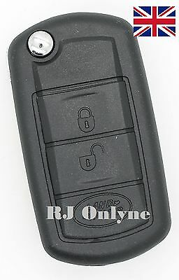 New 3 button flip key case for Land Rover Discovery 3 Range Rover remote + logo