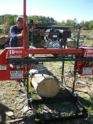 2017 Hud-Son Forest HFE-30 portable sawmill bandmill band mill lumber maker
