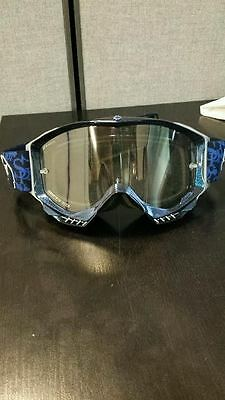 Spy Magneto MX Goggles Blue Clear NEW MMXES05F-S