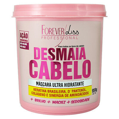 DESMAIA CABELO By Forever Liss Professional. Deep Hydration Hair Mask