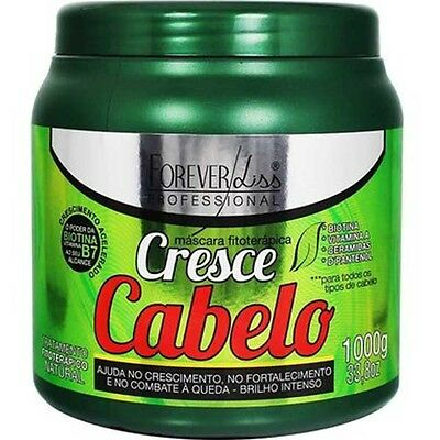 CRESCE CABELO By Forever Liss Professional. Growth Stimulating Hair Mask