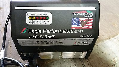 Eagle Perfor. 72 volt 12 amp Battery Charger Golf Carts, Elec. Vehicles, Equip