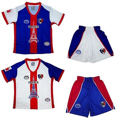 01509d9b664 France Home and Away Arza Youth and Adult Soccer Uniform(France Kids Jersey)