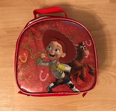 "Toy Story Buzz Woody ""Jessie"" Cloth Insulated Fabric Lunch Box Container"