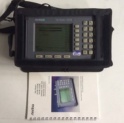 Anritsu Site Master S331B Cable Antenna Analyzer w/ Manual