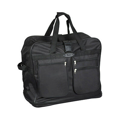 EAGLE Extra Large 40 Inch Wheeled Cargo Folding Holdall Travel Duffle Bag With 6