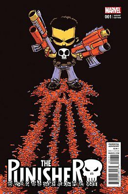 PUNISHER ISSUE 1 - FIRST 1st PRINT SKOTTIE YOUNG VARIANT COVER - MARVEL COMICS!