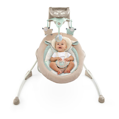 Baby Cradle Portable Swings Infant Swing Modern Mobile Electric Rocker Chair New