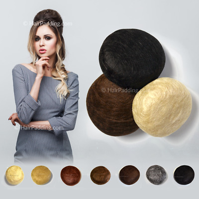 Hair Padding round puff bun - for Hair Styles add Hair Volume with Hair Pads
