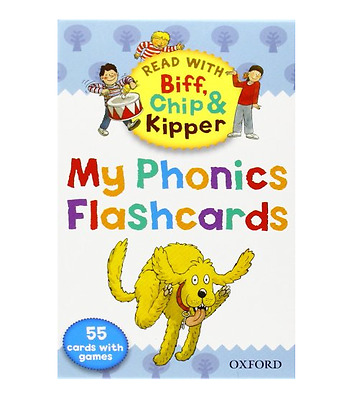 Phonics Flashcards Oxford Reading Tree Read With Biff, Chip and Kipper