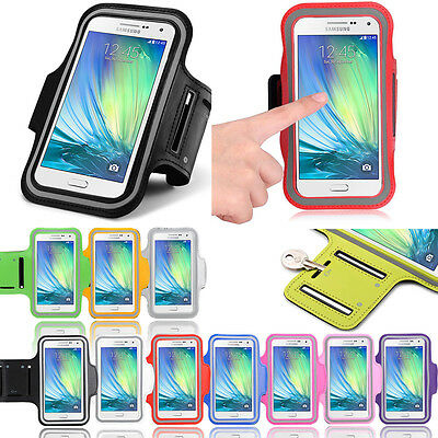 Gym Sports Armband Exercise Running Jogging Case For Samsung Galaxy A7 (2015)