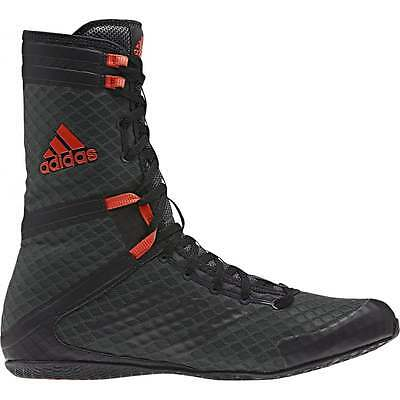 Adidas Boxing Speedex 16.1 HC High Top Boxing Boots Mens Black Shoes