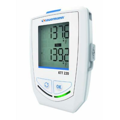 Sauermann KTT220-O Thermocouple Temperature Data Logger with Two Inputs