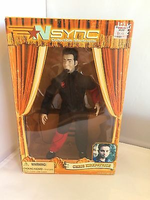 NSync Collectible Marionette – Chris Kirkpatrick Doll
