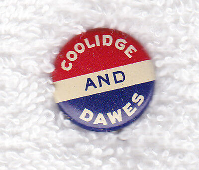 1924 Coolidge - Dawes Presidential  Campaign Pinback