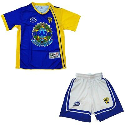 61b72d0d9 Brasil Away Arza Youth Soccer Uniform