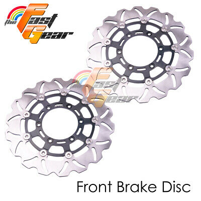 AU MX Brake Disc Rotor Front Rear For SUZUKI DRZ 400 E/S 00-08 01 02 03 04 05 06