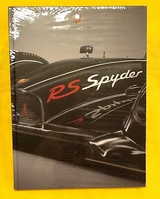 Porsche RS Spyder Collectible Book Ultra Rare 160 pages.  Brand New & Sealed