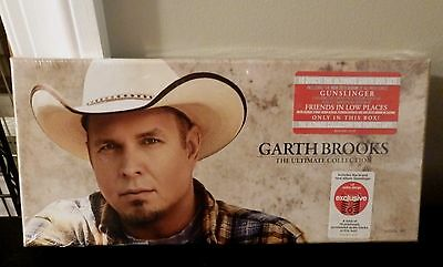 GARTH BROOKS   The Ultimate Collection 10 CD Box Set   New in Box Sealed
