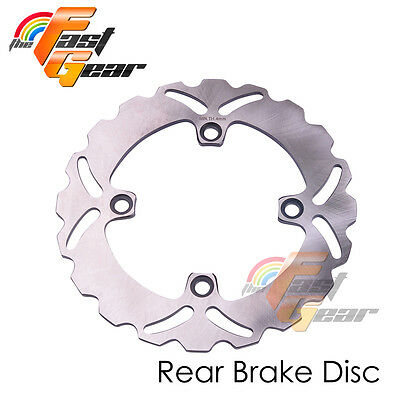 Solid Rear Brake Disc Rotor x1 For Honda VTR 250 98 99 00 01 02 03 04 05 06 07