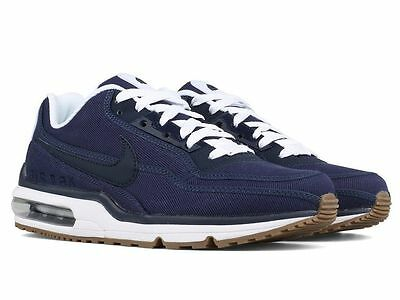 5defcfd801 New* Nike Air Max LTD 3 TXT Men's Shoe Running Navy Obsidian-White 746379