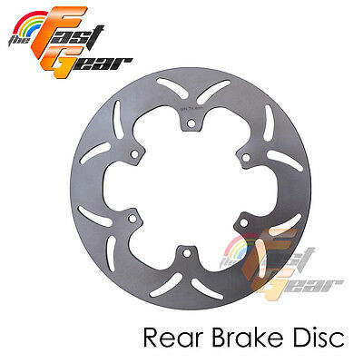 Solid Rear Brake Disc Rotor x1 For Yamaha XVS 1100 DRAG STAR  99-03 04 05 06