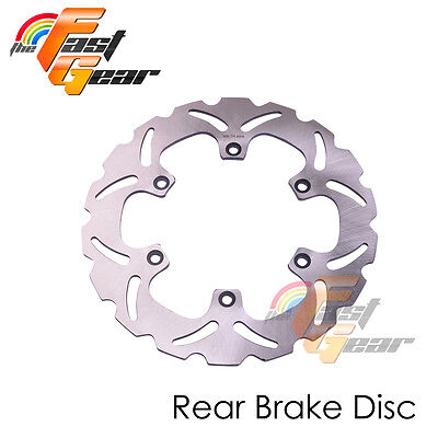 Solid Rear Brake Disc Rotor x1 For Yamaha FZS 1000 FZ FAZER 01 02 03 04 05