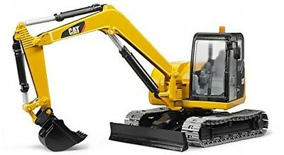 Bruder Excavator Toy Mini Truck Digger Block Construction Model Movable Kid Play