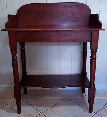 Antique Australian Cedar Washstand , circa late 1800's