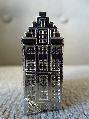 AMSTERDAM Canal House Metal Souvenir Building Netherlands Holland RARE