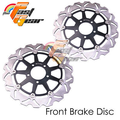 Racing Front Brake Disc Rotor x2 For SUZUKI GSX 1400 2002 2003 2004 2005 06 07
