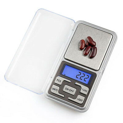 500g x 0.1g 0.01g Mini Electronic Digital Jewelry Food Scale Weight Balance Gram