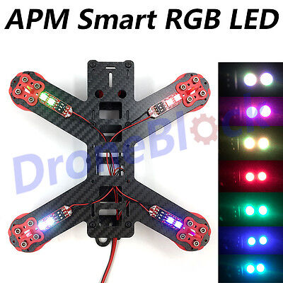 APM2.8 2.6 RGB External LED Multicopter Navigation Light with BEC 5V Intelligent