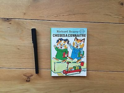 Richard SCARRY Choses à connaître Minocolor