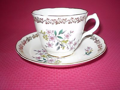 Vintage Royal Grafton Bone China Floral Tea Cup & Saucer Duo ~ 4 Available