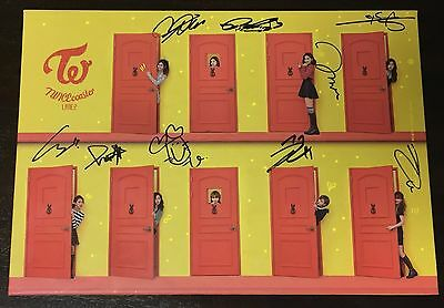 "TWICE autographed ""TWICEcoaster: Lane 2"" Album signed PROMO CD"