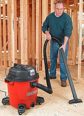 NEW! Craftsman Wet Dry Vac Vacuum XSP 16 Gallon 6.5 Peak HP Home Shop Cleaner