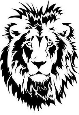 Lion STENCIL Reusable plastic Paint Art Craft DIY Home Decor st38