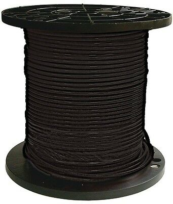 Southwire 500 Ft 8 Black Stranded CU THHN Wire Electrical Conductor Building New