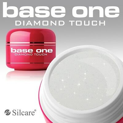 Silcare Base One Diamond Touch 5g Shiny UV Nail Gel Builder with Glitter Durable