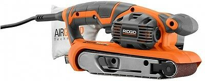 3 In X 18 In Heavy Duty Variable Speed Belt Sander with AIRGUARD Technology New