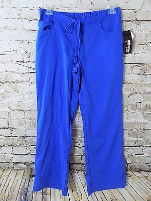 Grey's Anantomy Women's Scrub Pants Medical Uniform Blue Size Large Petite New
