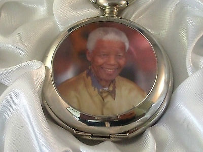 memorabilia Nelson Mandela Limited edition pocket watch only 100 made