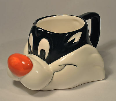 Looney Tunes 3D Sylvester the Cat Collectible Coffee Cup Mug