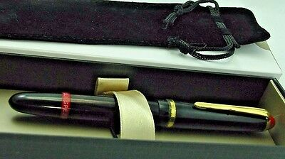 1950s Rotring SPEZIAL Tintenkuli Technical Black Gold Trim Pen RED top Germany