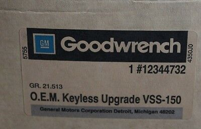1980 1990 GM 12344732 Goodwrench OEM VSS-150 Vehicle Security Alarm System