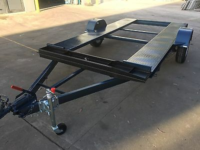 Single Axle Light Weight Car Trailer 12X6.7Ft  Also 10Ft 11Ft 14Ft Available