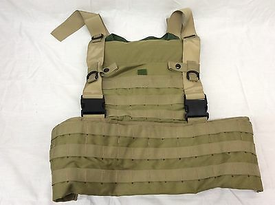 HSGI Wasatch Plate Carrier & Chest Rig Khaki Tan