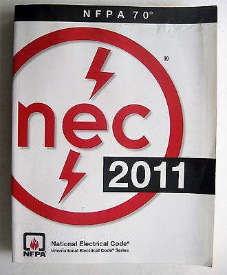 NEC 2011 NFPA 70 National Electric Code Book ISBN 9780877659143